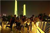 参观南京河西新城